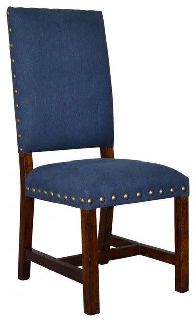 indigo blue dining chair set of 2 southwestern dining