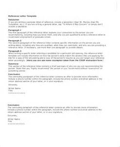 Professional Employment Reference Letter Samples