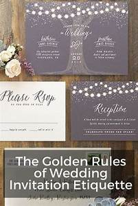 the golden rules of wedding invitation etiquette wording With wedding invitation etiquette for phd