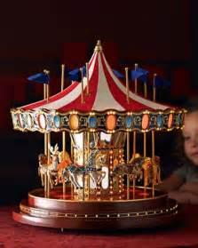 Christmas Musical Carousel Merry Go Round