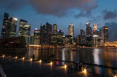 Singapore skyline - Ed O'Keeffe Photography