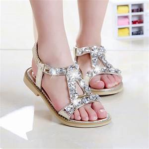 toddler girl sandals party girls shoes princess children ...