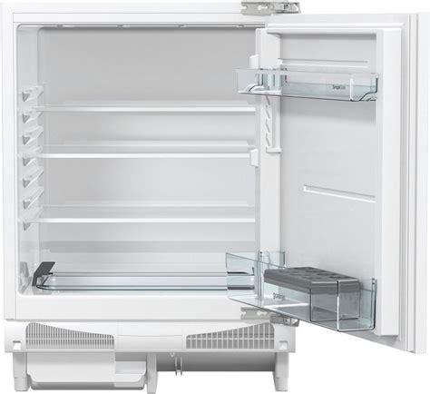 kühlschrank 82 cm hoch gorenje einbauk 252 hlschrank riu6092aw 82 cm hoch 59 6 cm breit kaufen otto