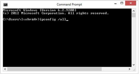 finding  ip address  mac address   network card