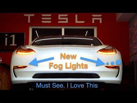Download Tesla 3 Fog Light Background