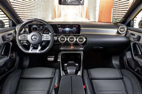 Mercedes Interior 2019 by 2019 Mercedes Amg A 35 Hatch Revealed Performancedrive