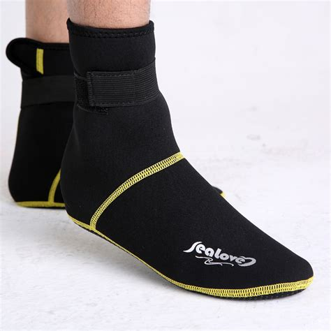 Boat Shoe Socks Aliexpress by 3mm Thicken Snorkeling Shoes Diving Socks Scuba Boot