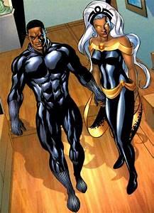 Black Panther and Storm   marvel comics   Pinterest ...