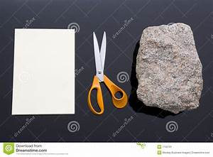 Rock, Paper, Scissors Stock Image - Image: 7742791