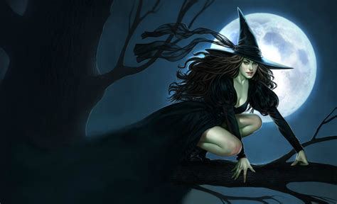 Beautiful Black Image by 44 Beautiful Witches Wallpaper On Wallpapersafari
