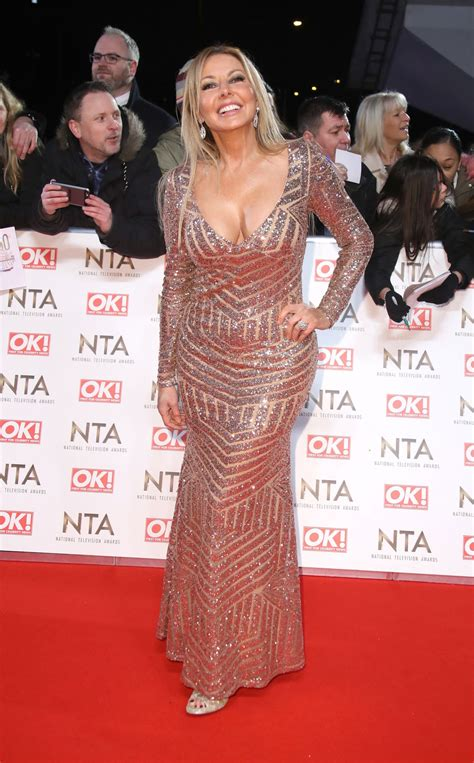 carol vorderman national television awards  london