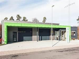 Hallenbau Mit Wohnung : hallenbau mit b rogeb ude f r die ganzhorn gmbh ~ Frokenaadalensverden.com Haus und Dekorationen