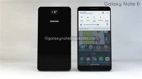 samsung galaxy note 6 concept comes with some interesting propositions concept phones