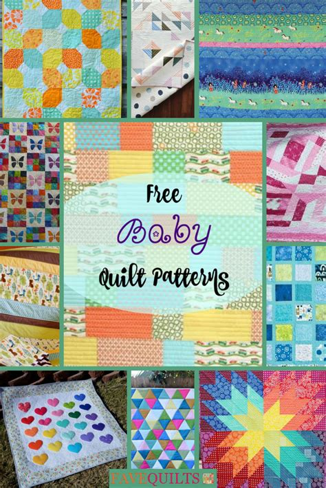 baby quilt patterns favequiltscom