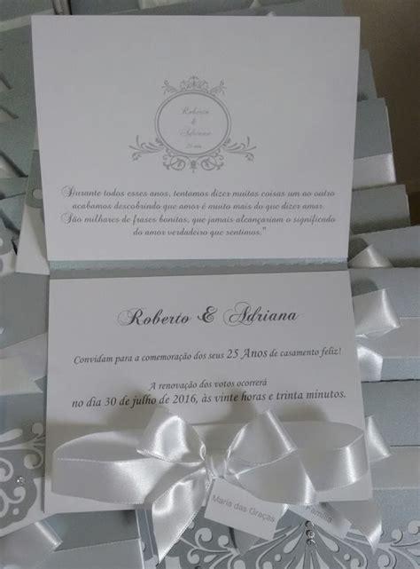 de convites bodas de prata