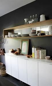 Etagere Murale Pour Cuisine : etagere pour livre de cuisine maison design ~ Dailycaller-alerts.com Idées de Décoration