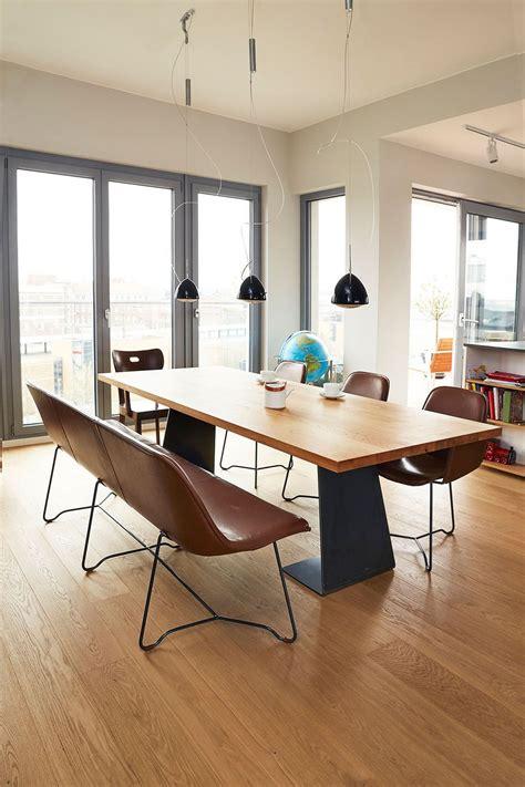 Schoene Ideen Fuer Esstisch Mit Stuehlenmoderner Esstisch Mit Stahl Und Holz by Design Lederbank Like Design Sitzbank Aus Feinstem Leder
