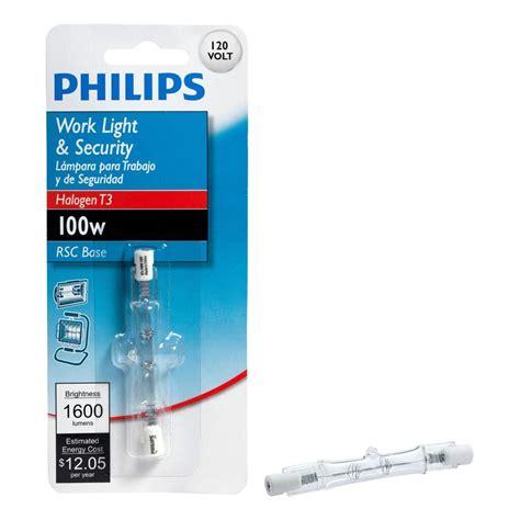 halogen work l bulbs 100 watt halogen t3 120 volt dimmable work and security