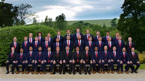 official wales squad photograph