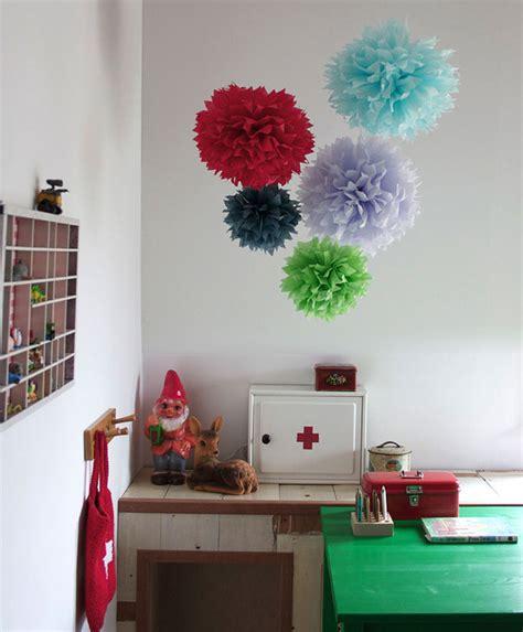 house  ideas  decorar  pompones de seda