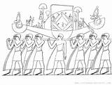 Coloring Funeral Ancient Printable Egyptian Procession Egypt Painting Tomb Sheet Scene Depicts Adapted Detailed Adult sketch template