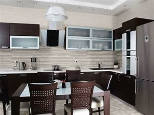 Kitchen ceramic kitchen ceramic wall tile ideas modern for Kitchen with wall tiles images
