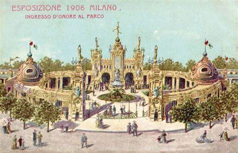 Ingressi Expo - cartolina ingresso expo 1906 scoprire e dintorni