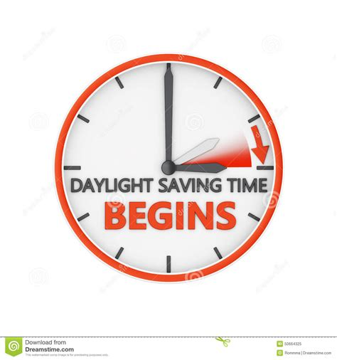 Day Light Saving Time Change by Daylight Saving Time Stock Illustration Image 50664325