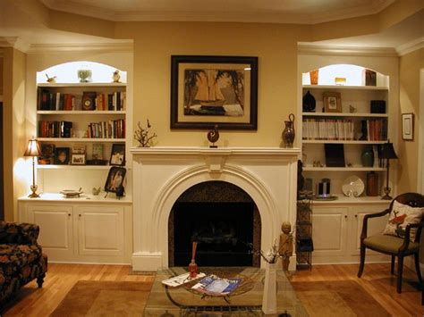 images  fireplace bookcases  pinterest