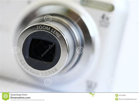 Camera with Zoom Lens