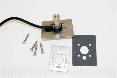 Truck Internal Stake Hole Antenna Mount Right Channel
