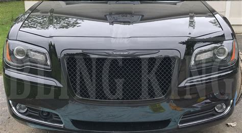 Bentley Grill Chrysler 300 by Chrysler 300 Black Chrome Mesh Bentley Grille Grill Bently