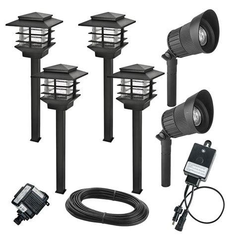 Low Voltage Led Lighting by 6 Pack Led Landscape Light Kit Low Voltage Integrated