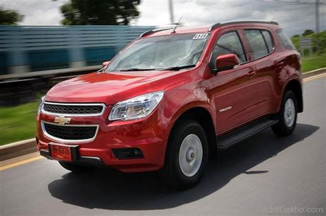 Chevrolet Trailblazer Picture by Chevrolet Trailblazer Car Pictures Images Gaddidekho