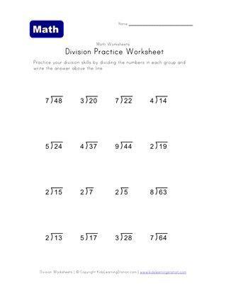 division worksheet   remainders  images
