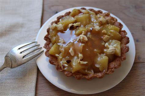 tarte aux pommes speculos caramel au beurre sale