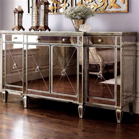mirrored sideboard table mirrored sideboards spectacular dining room furniture 4166