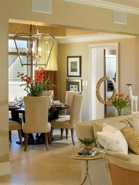 Neutral Dining Rooms 2017  Grasscloth Wallpaper