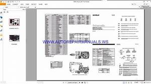 Caterpillar M320 Excavator Electrical Schematics Manuals