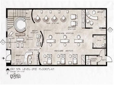 spa layout salon floor plans salon floor plans day