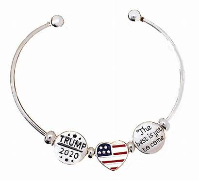 Trump Flag Come Yet Without Tools Charms