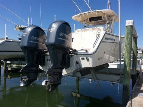 Yamaha Outboard Motors For Sale Nc by For Sale Used Pair Of Yamaha F350 Outboards The Hull