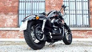 Harley Davidson Sportster Forty Eight With Bsl Exhaust