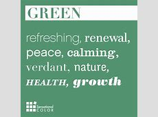 green Archives Sensational Color