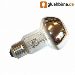 Glühbirne 40 Watt : gl hbirne 40w e27 kopfspiegel reflektor silber gl hlampe 40 ~ Frokenaadalensverden.com Haus und Dekorationen