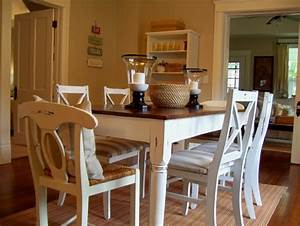 Painting Dining Room Table With Nice Painted White Dining ...