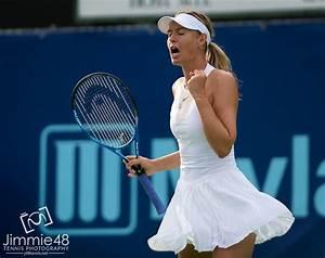 Photo: Maria Sharapova Playing World Team Tennis, Newport ...