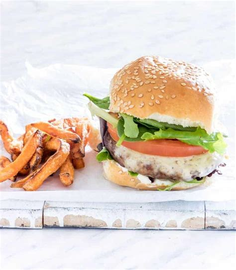 hamburgers fryer air juicy degrees easy burger recipes doneness fries potato pantry