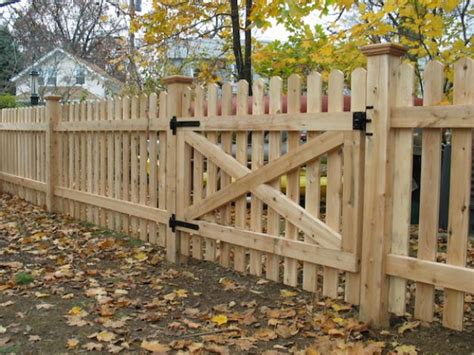 Original Old Wood Picket Fences