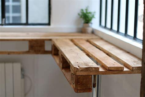 Chaise Haute D 39 Exterieur En Palette Table Haute En Palette Maison Design Sphena Com